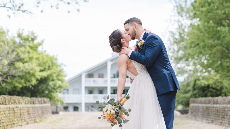 Spring Barn Wedding