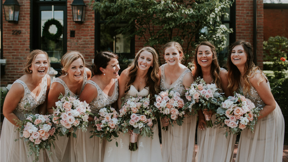 Blush Wedding at Station 67